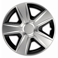 ELEGANT Esprit RC Silver&Black R13 КОЛПАКИ ДЛЯ КОЛЕС (Комплект 4 шт.)