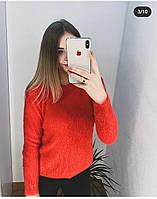 Свитердля девушек размер норма 42-44, красного цвета, фото 1