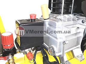 Компрессор для дома воздушный Werk BM-2T24N с Набором пневмоинструмента 5 предметов!, фото 3