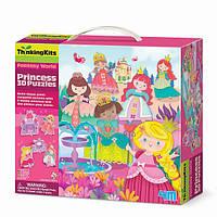 """3D-пазл 4M """"Принцессы"""" (00-04718)"""