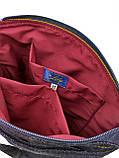 Джинсовая сумка РУССКАЯ ЗЕЛЕНОГЛАЗАЯ КОШКА, фото 5