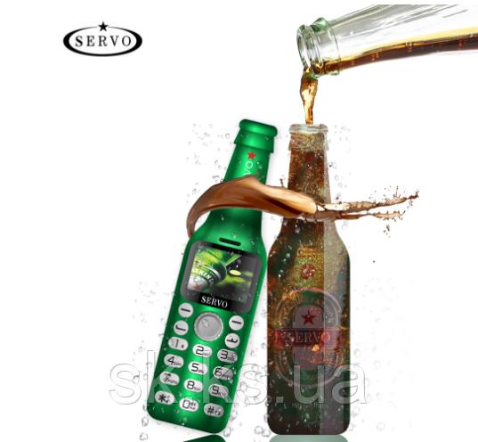 Телефон бутылка servo V8