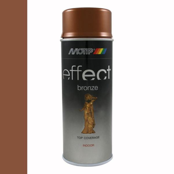 Эмаль с эффектом бронзы Motip Deco Effect , 400 мл Аэрозоль Медь