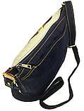 Джинсовая сумка МОПС, фото 3