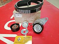 Комплект ремня генератора с кондиционером Renault Sandero 1.6 16V K4M (Original 117206746R)