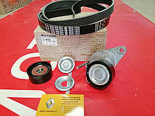 Комплект ремня генератора с кондиционером Renault Megane 3 (Original 117206746R)
