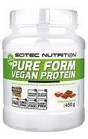 Протеин Scitec Nutrition Pure Form Vegan Protein (450 г)