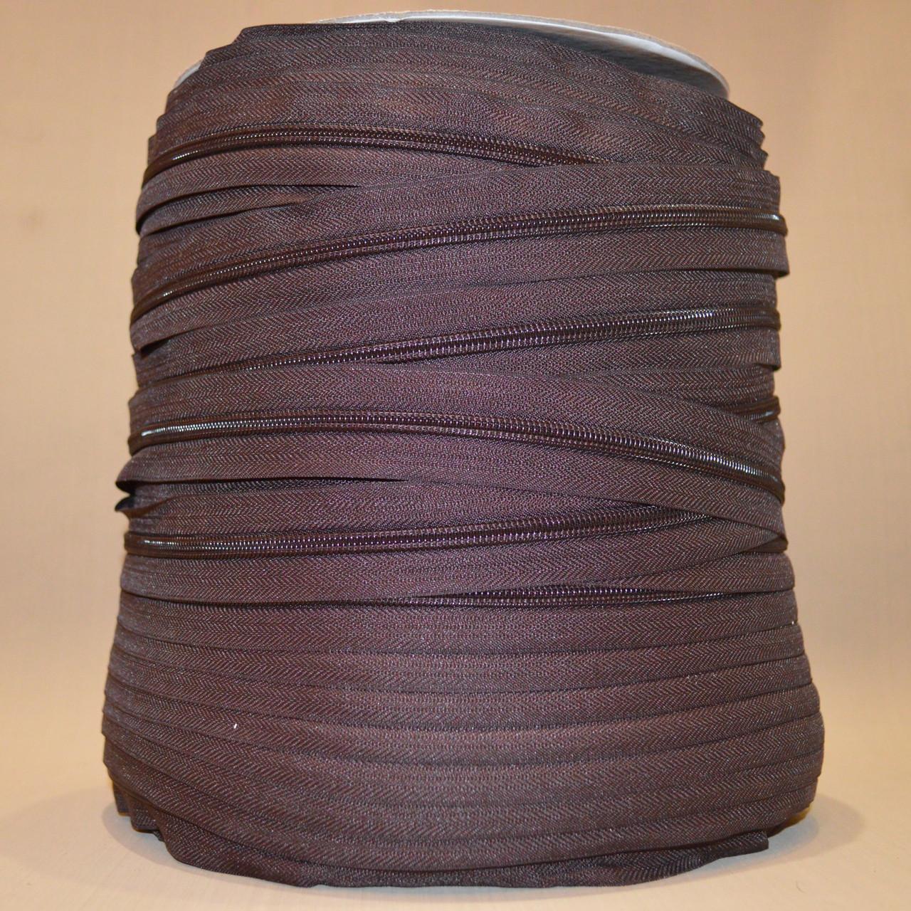 Молния коричневая, р.7, пр-во Италия