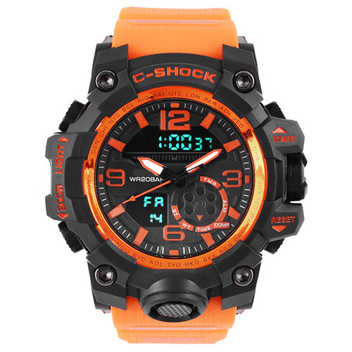 Часы наручные C-Shock GG-1000B Orange-Black