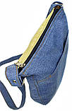 Джинсова сумка ПУЧЕГЛАЗАЯ СОВА, фото 3