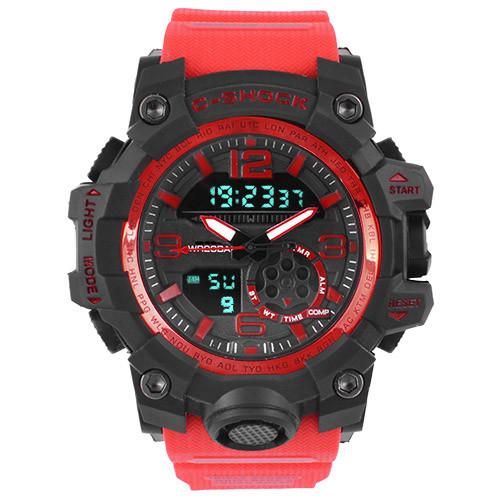 Часы наручные C-Shock GG-1000B Red-Black