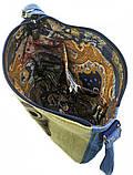 Джинсова сумка ПУЧЕГЛАЗАЯ СОВА, фото 5