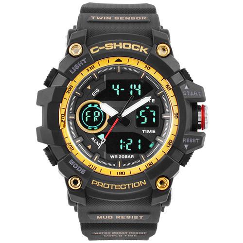 Часы наручные C-Shock GG-1100 Black-Gold