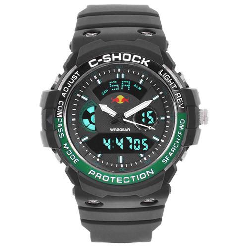 Часы наручные C-Shock GN-1000 Black-Green