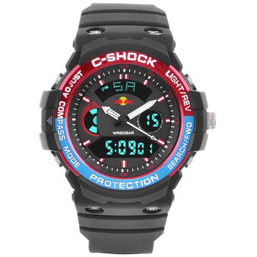 Часы наручные C-Shock GN-1000 Black-Red