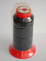 Нить TITAN №40 черная для рукавной а также ручной прошивки 1000m