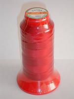 Нить TITAN №40 красная для рукавной а также ручной прошивки 1000m