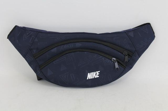 Красочная сумка-бананка на пояс или через плечо
