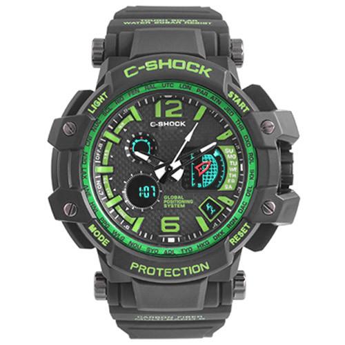 Часы наручные C-Shock GPW-1000 Black-Green