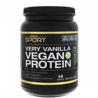 Веганский Протеин Горох & Рис California Gold Nutrition Vegan Protein (454 г)