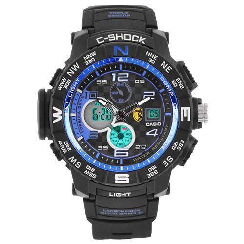 Часы наручные C-Shock GPW-2000 Black-Blue