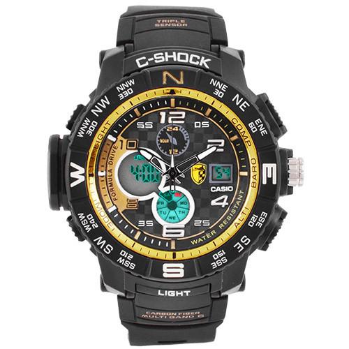 Часы наручные C-Shock GPW-2000 Black-Gold