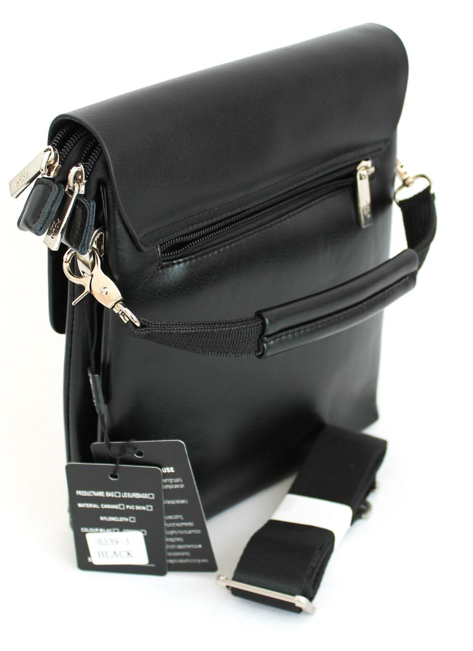 Сумка-планшет мужская из кожзама Polo B339-3