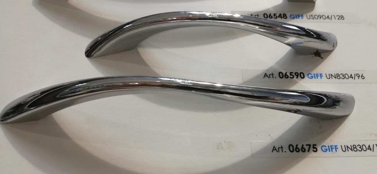 Ручка меблева скоба GIFF UN8304 хром