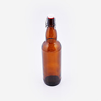 Бутылка Bordo с бугельной пробкой 750 мл коричневая