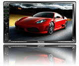 "Автомагнітола 2DIN MP5 7"" TFT Display USB \ Bluetooth \ Video\Camera Multicolor, фото 2"