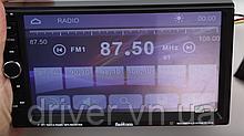 "Автомагнітола 2DIN MP5 7"" TFT Display USB \ Bluetooth \ Video\Camera Multicolor"