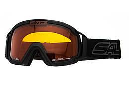 Маска гірськолижна Salice 618 Sonar Black (618_SNR_BLK) Уцінка