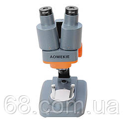 Микроскоп 40х бинокулярный стереоскопический для пайки и ремонта телефонов