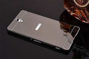 Чехол бампер для Sony Xperia C5 Ultra Dual E5533 E5563 зеркальный