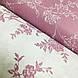 Ткань поплин крупные сиреневые цветы на белом (ТУРЦИЯ шир. 2,4 м) №32-208 ОТРЕЗ(0,6*2,4), фото 5