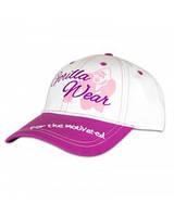 Женская бейсболка Gorilla Wear Lady Signature Cap (White/Pink)