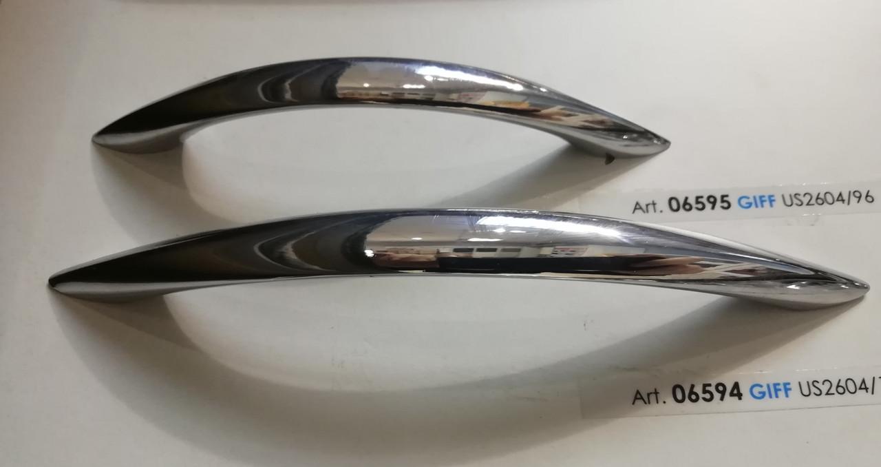 Ручка мебельная скоба GIFF US2604 Хром