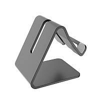Алюминиевая подставка под телефон или планшет. Держатель для телефона планшета Mobile Mate Черная
