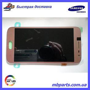 Дисплей с сенсором Samsung J250 Galaxy J2 2018 розовый/pink, GH97-21339C, фото 2