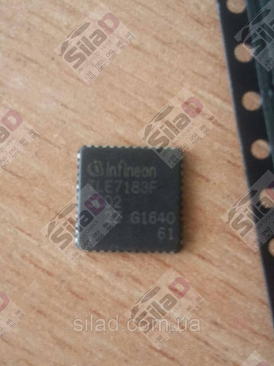 Микросхема Infineon TLE7183F корпус PG-VQFN-48