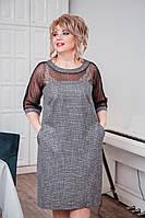Платье в большого размера, Осень - Зима