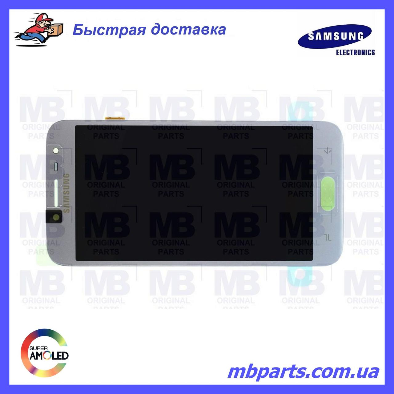 Дисплей с сенсором Samsung J250 Galaxy J2 2018 серебристый/silver, GH97-21339B