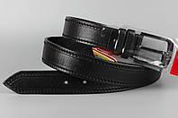 Ремень кожаный брючный King Belts 40 мм баталы 125 см 147 см