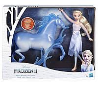 Кукла Frozen 2 Эльза и Нокк, Hasbro, E5516