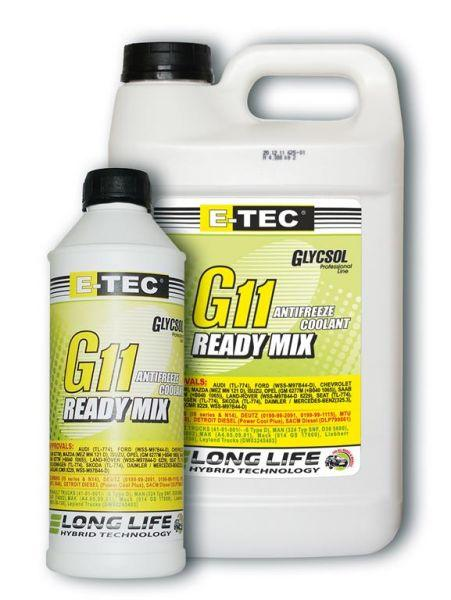 Антифриз E-TEC -40 G11 Glycsol зеленый (4л)