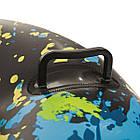 Двомісні надувні сани - тюбінг для катання Bestway 39014, 168 х 119 см, чорні, фото 3