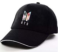 Кепка бейсболка BTS KPOP JUNGKOOK  (черная)