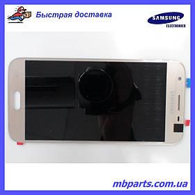 Дисплей с сенсором Samsung J330 Galaxy J3 Gold, оригинал,GH96-10990A