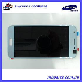 Дисплей с сенсором Samsung SM-J330 Galaxy J3 Silver оригинал, GH96-10992A