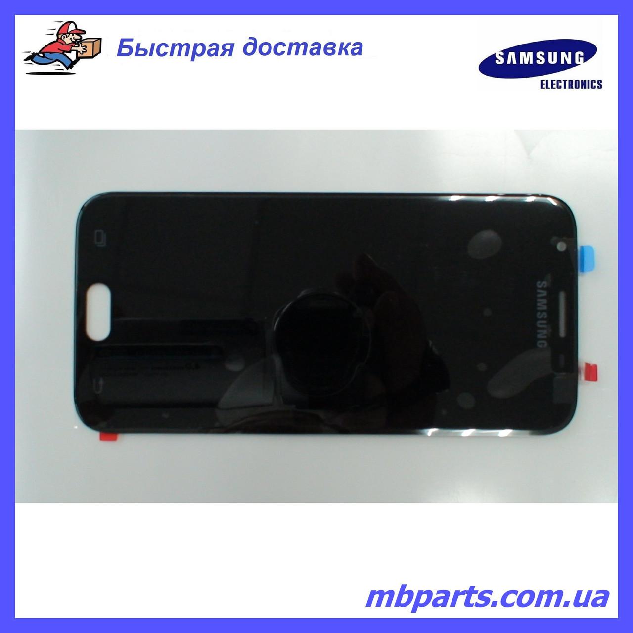 Дисплей з сенсором Samsung J330 Galaxy J3 Black, оригінал, GH96-10969A